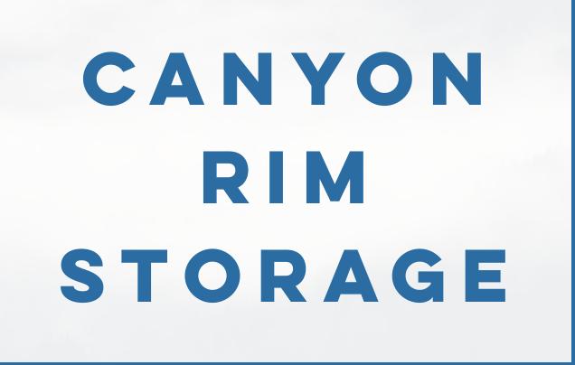 Canyon Rim Storage