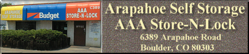 Arapahoe Self Storage and AAA Store-N-Lock
