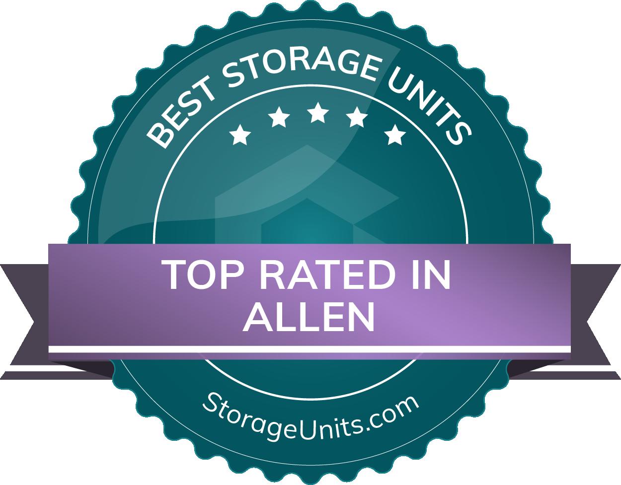 Best Self Storage Units in Allen, TX