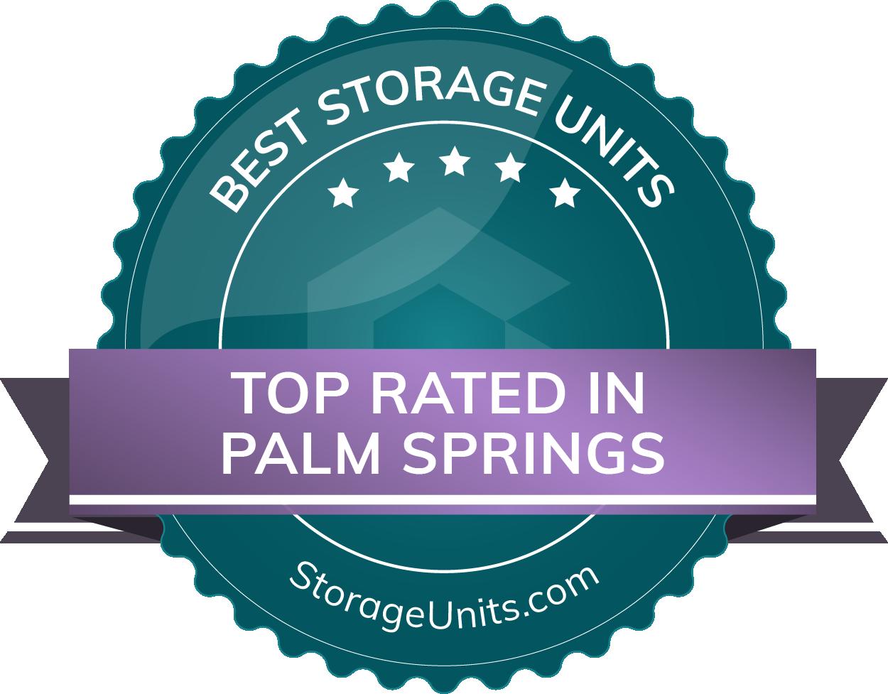 Best Self Storage Units in Palm Springs, CA
